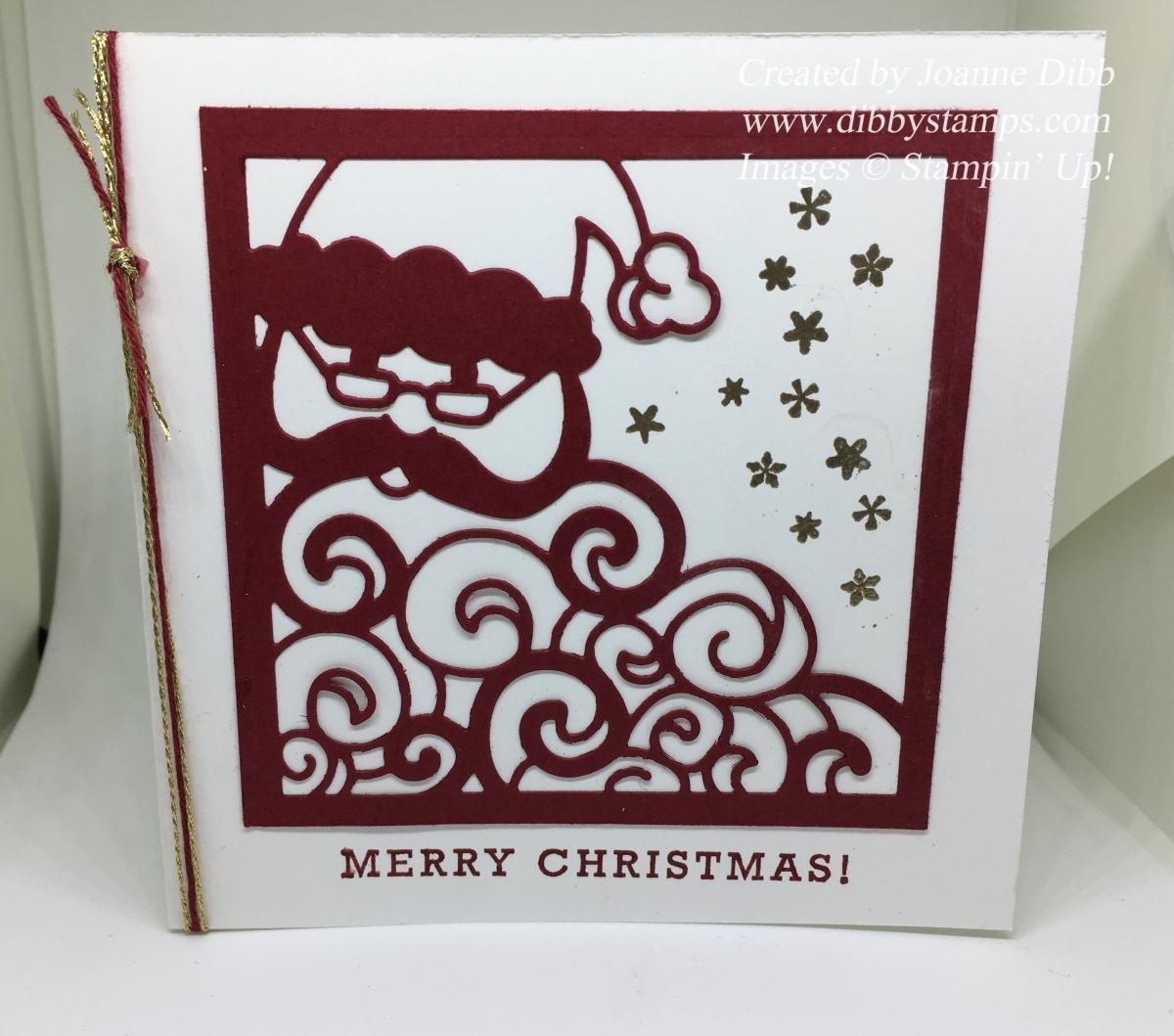 Cherry Cobbler Detailed SantaCard