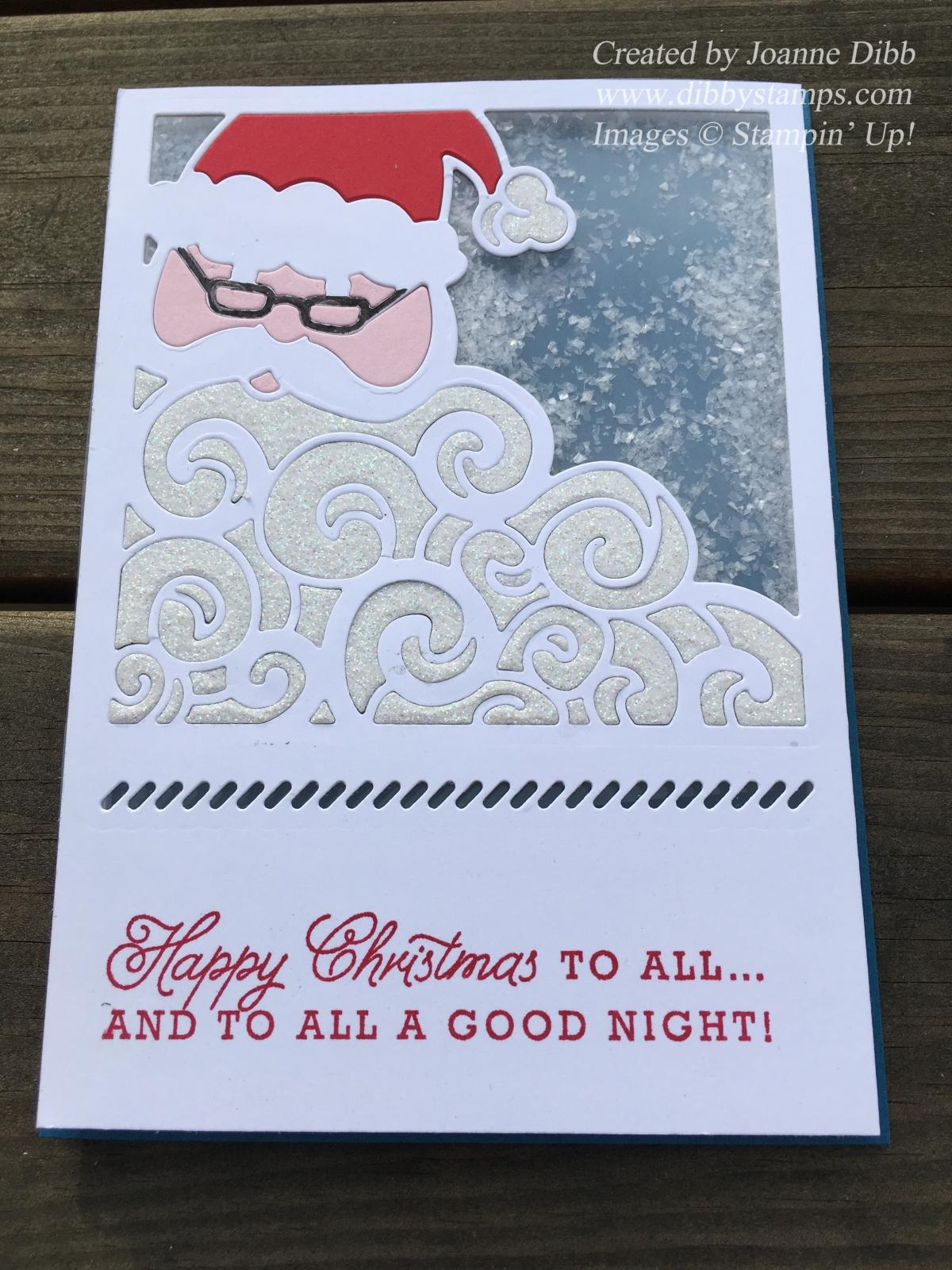 Detailed Santa ShakerCard