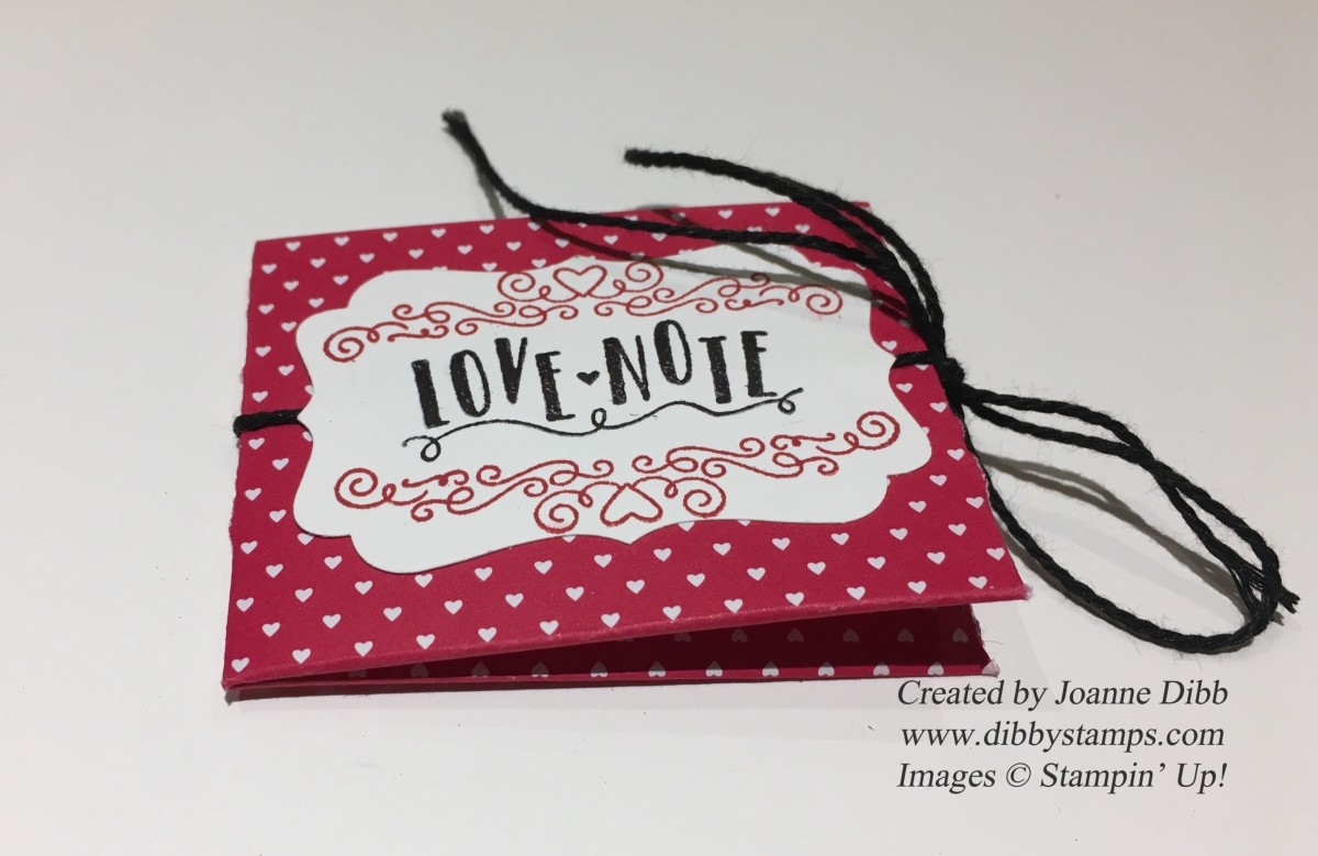 Sealed With Love, Love Notes Pouch