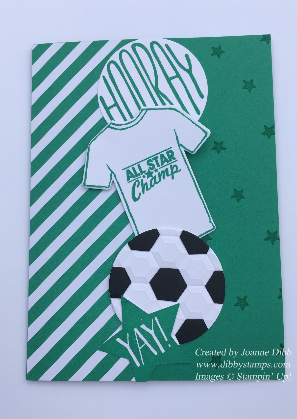 Football Frenzy Birthday Card