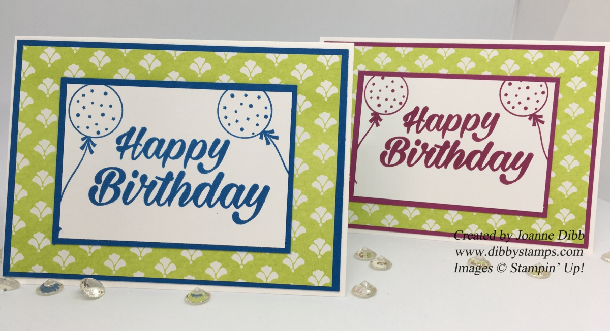 Birthday Bright: Quick & Simple Birthday Cards