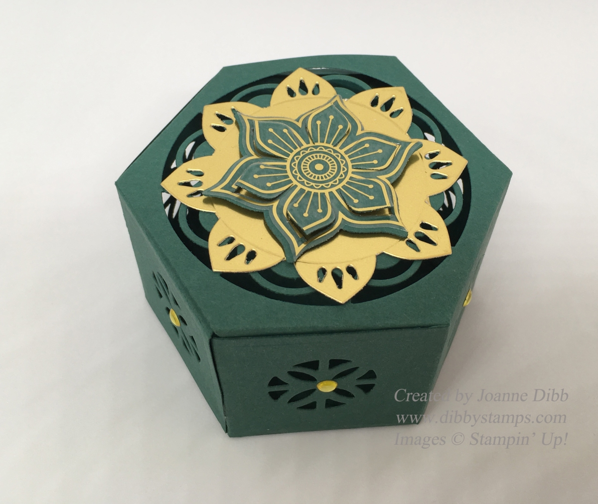 Eastern Palace Hexagonal Box