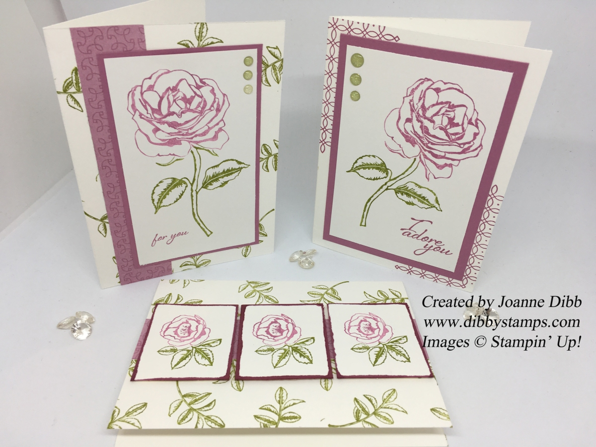 Three Card Thursday: Petal Garden
