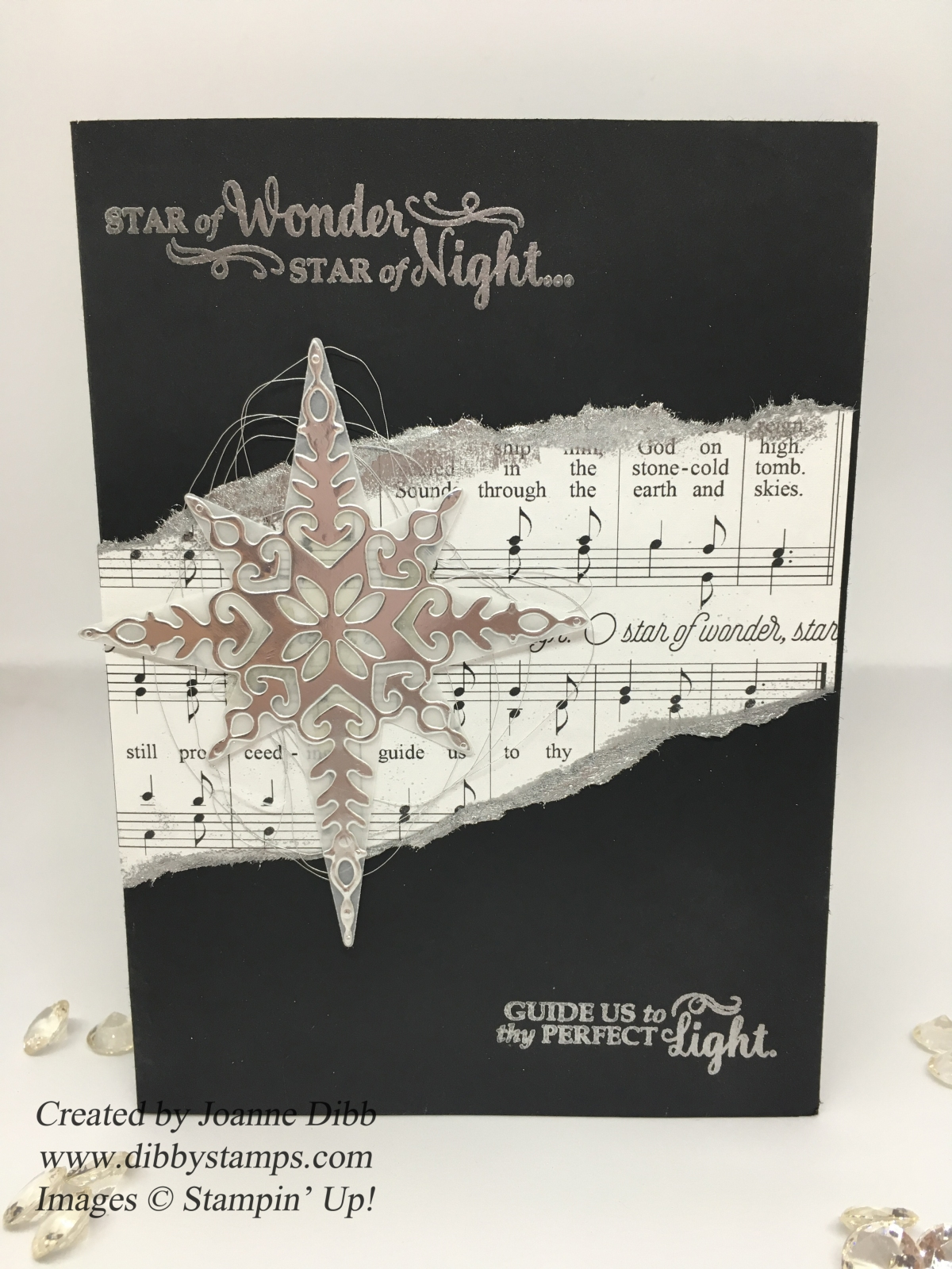 Star of Wonder, Star of Night Christmas Card – Dibby Stamps