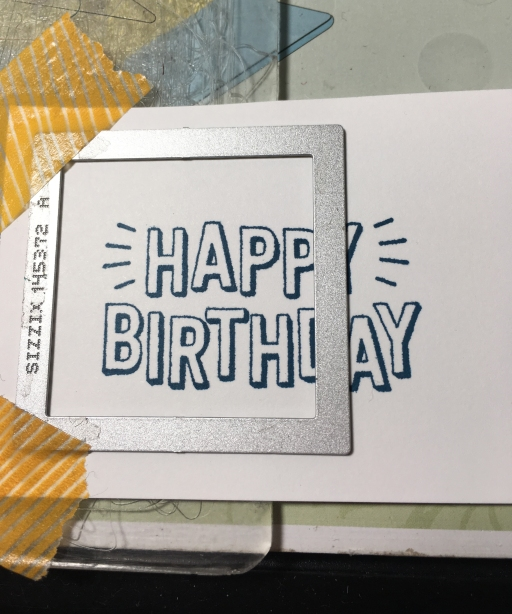All Stars Male Birthday Card Dibby Stamps
