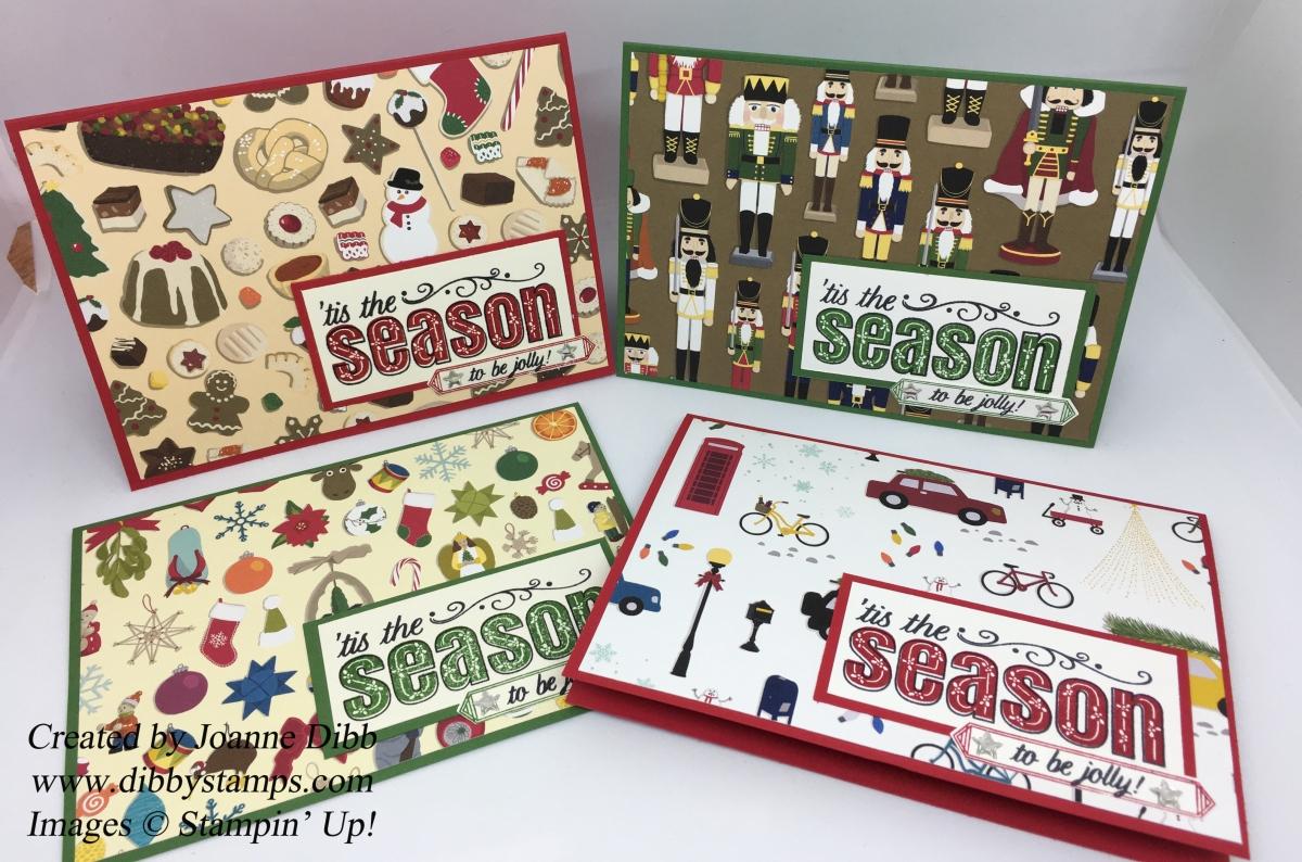 Four Festive Cards