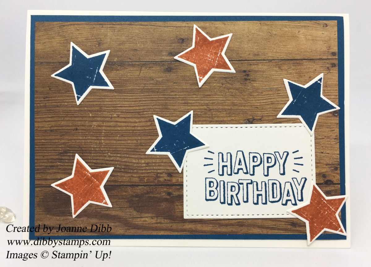 All Stars Male Birthday Card