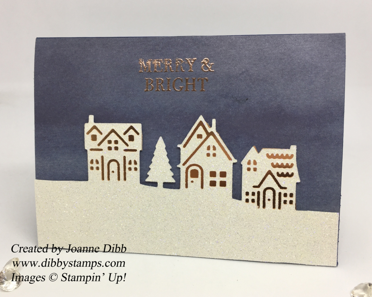 Little Sparkly Homes Christmas Card
