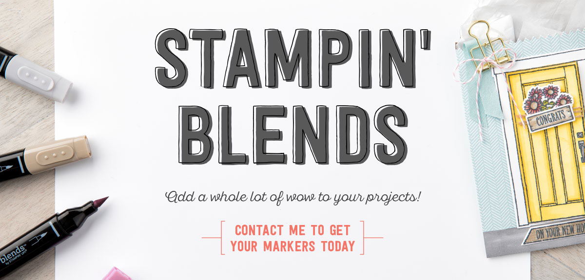 Stampin Blends Now Available for Purchase!