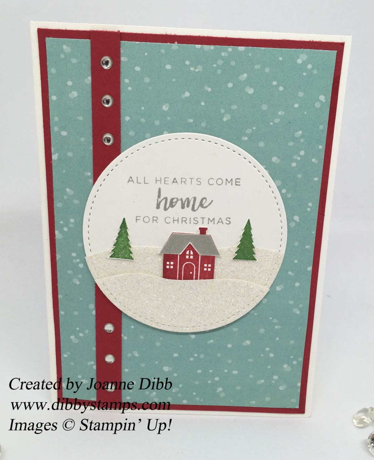 All Hearts Come Home Christmas Card