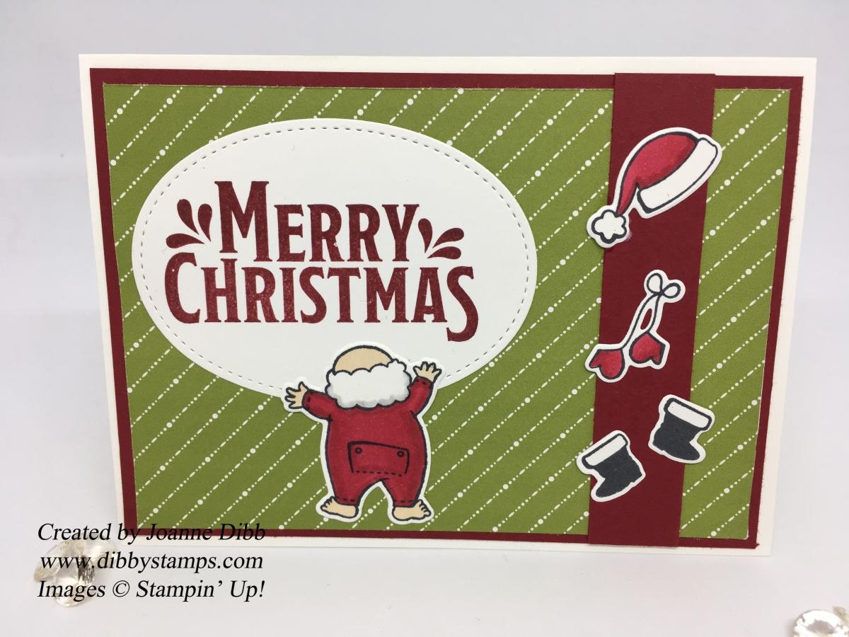 Santa's Suit ChristmasCard