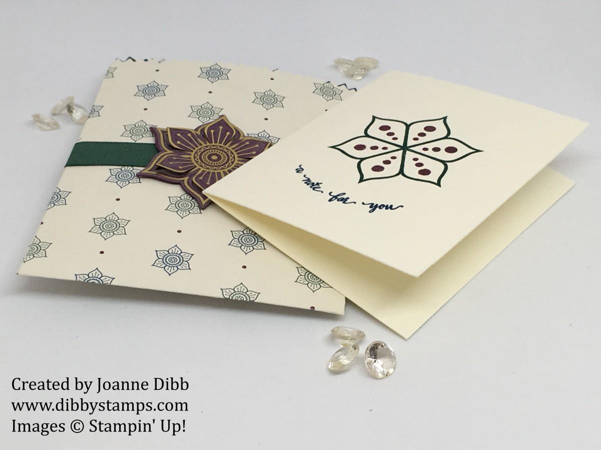 Eastern Palace Mini Treat Bag &Notecard