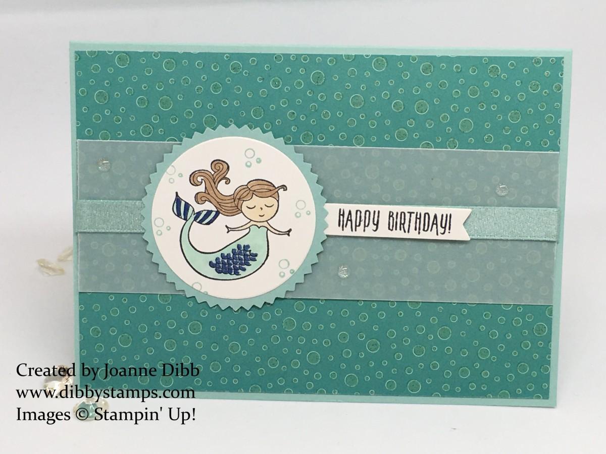 Magical Day Mermaid BirthdayCard