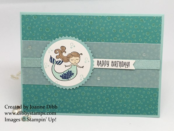magical days mermaid birthday card