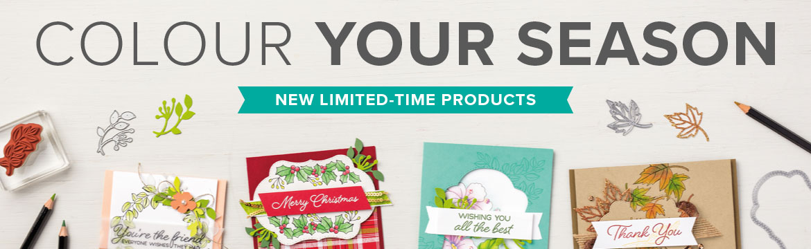 Colour Your Season – New Limited Time Products
