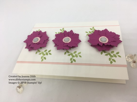 berry burst flower card flat