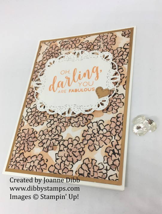 copper grapefruit darling card flat