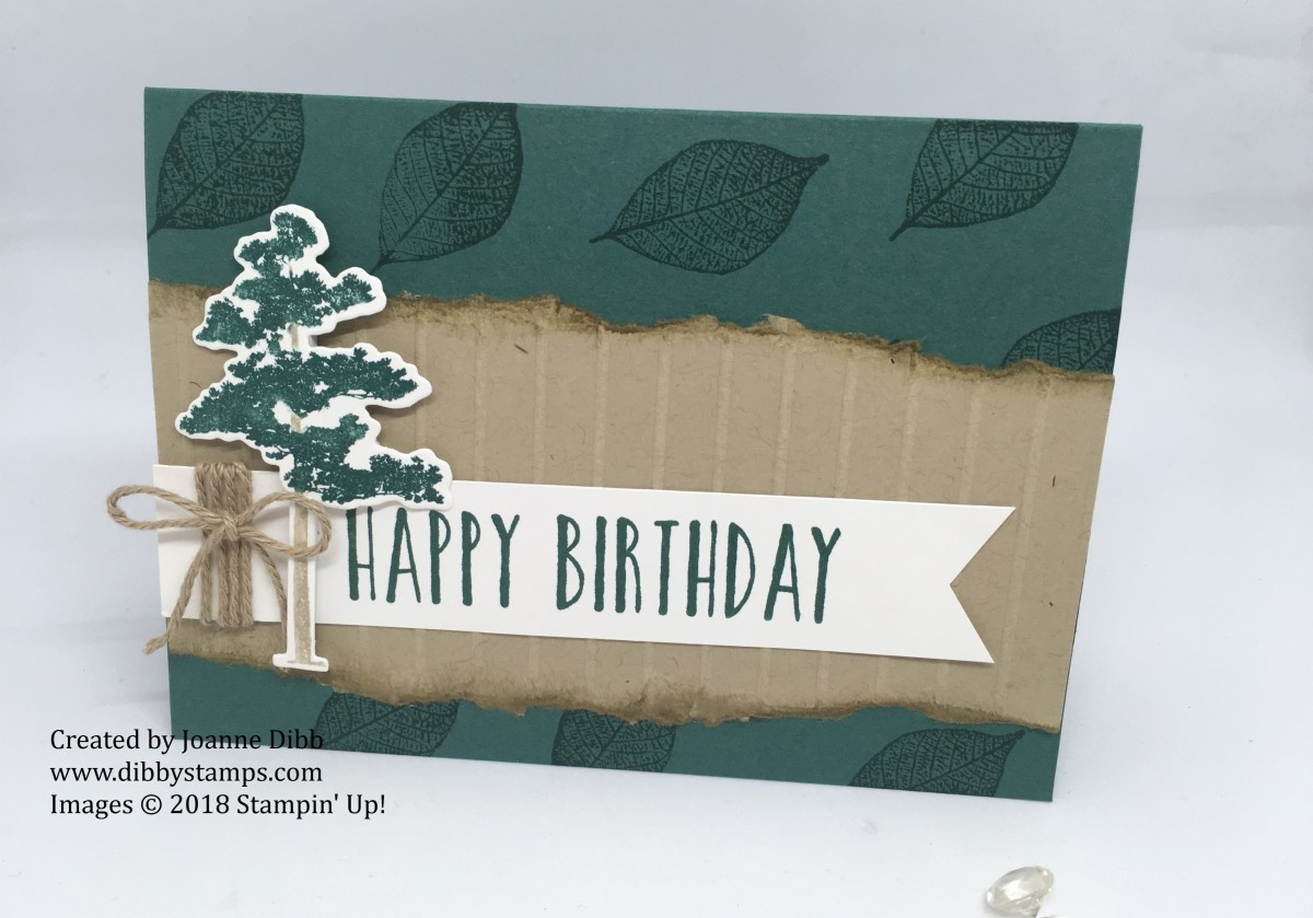 Nature's Roots Birthday Card