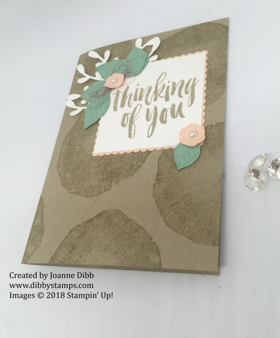 Rooted in nature feminine card flat