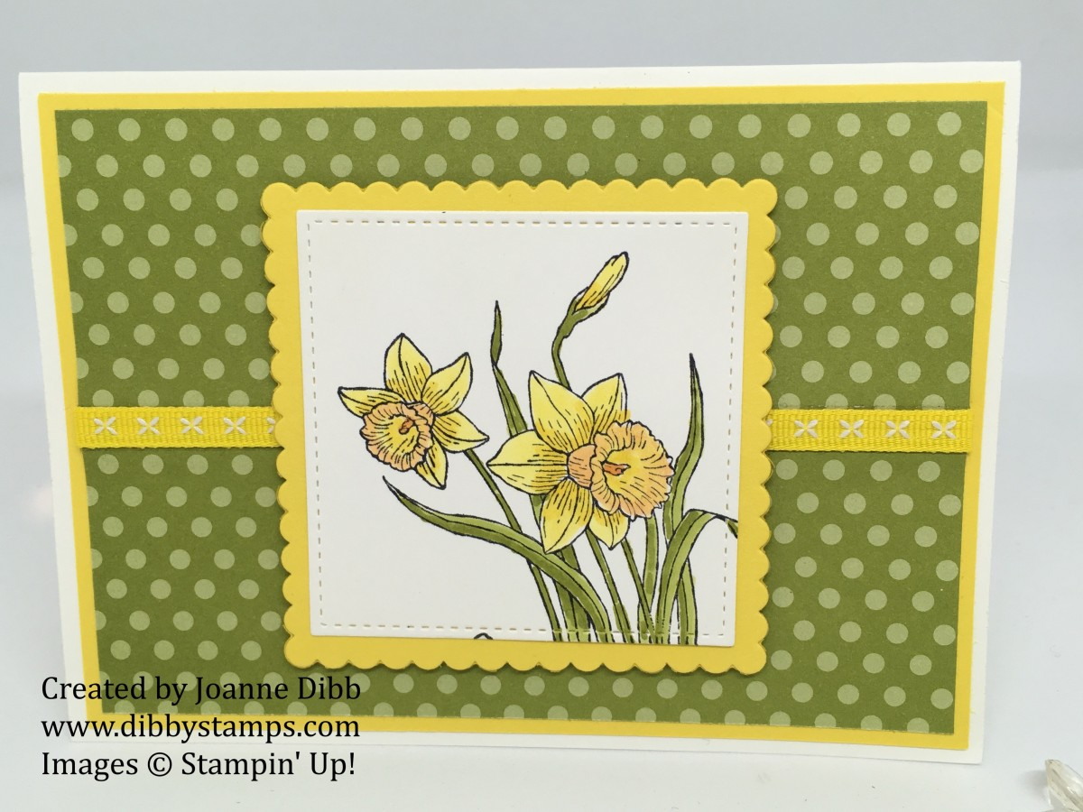 You're Inspiring Daffodil Card