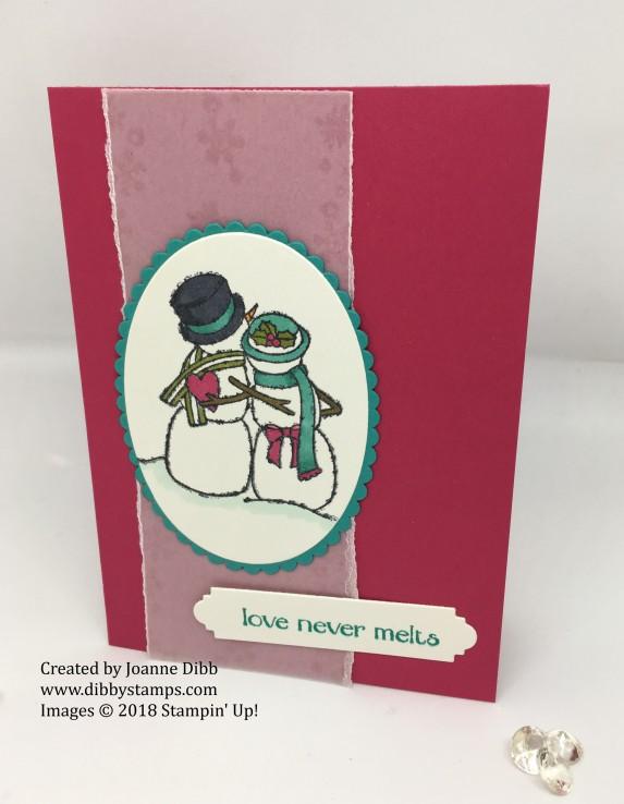 Spirited Snowmen Card 2