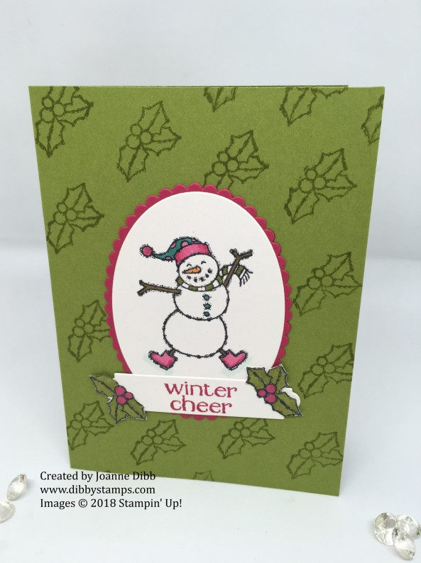 Spirited Snowmen Card 3