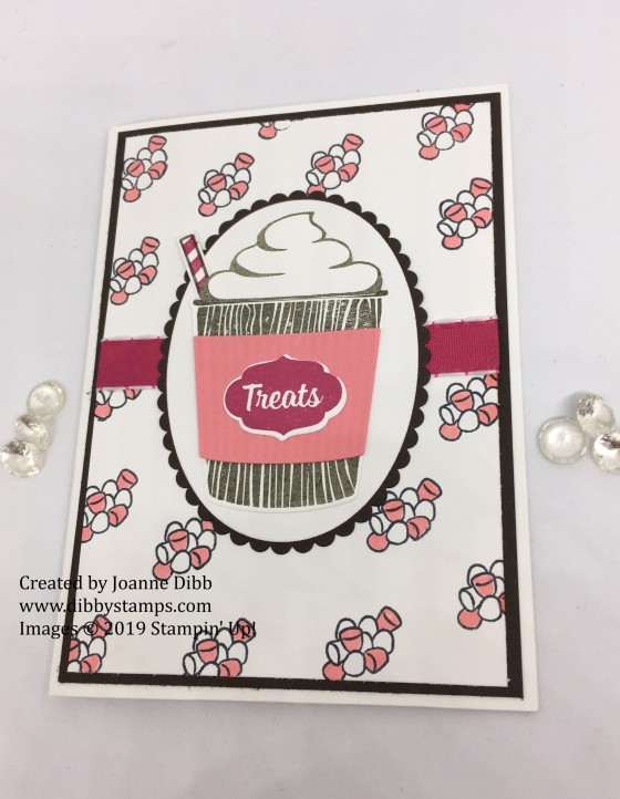 marshmallow treats card flat