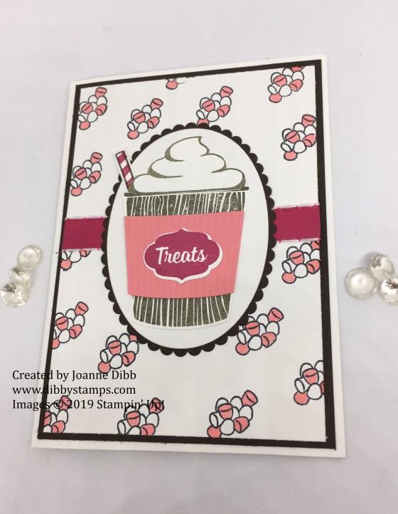 marshmallow treats card flat