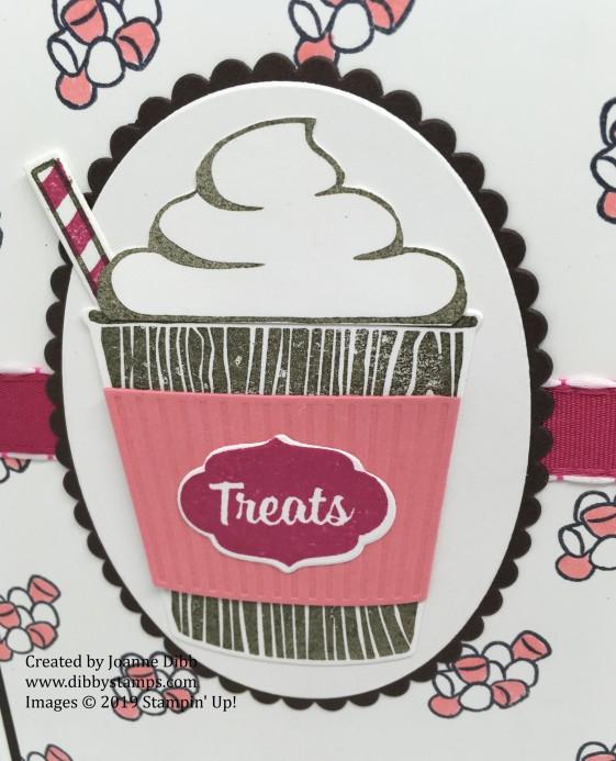 marshmallow treats close up