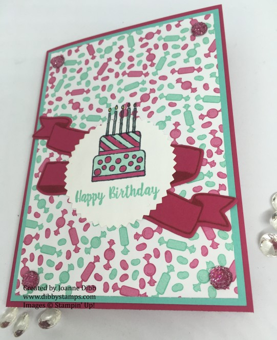 niece's birthday card - piece of cake flat