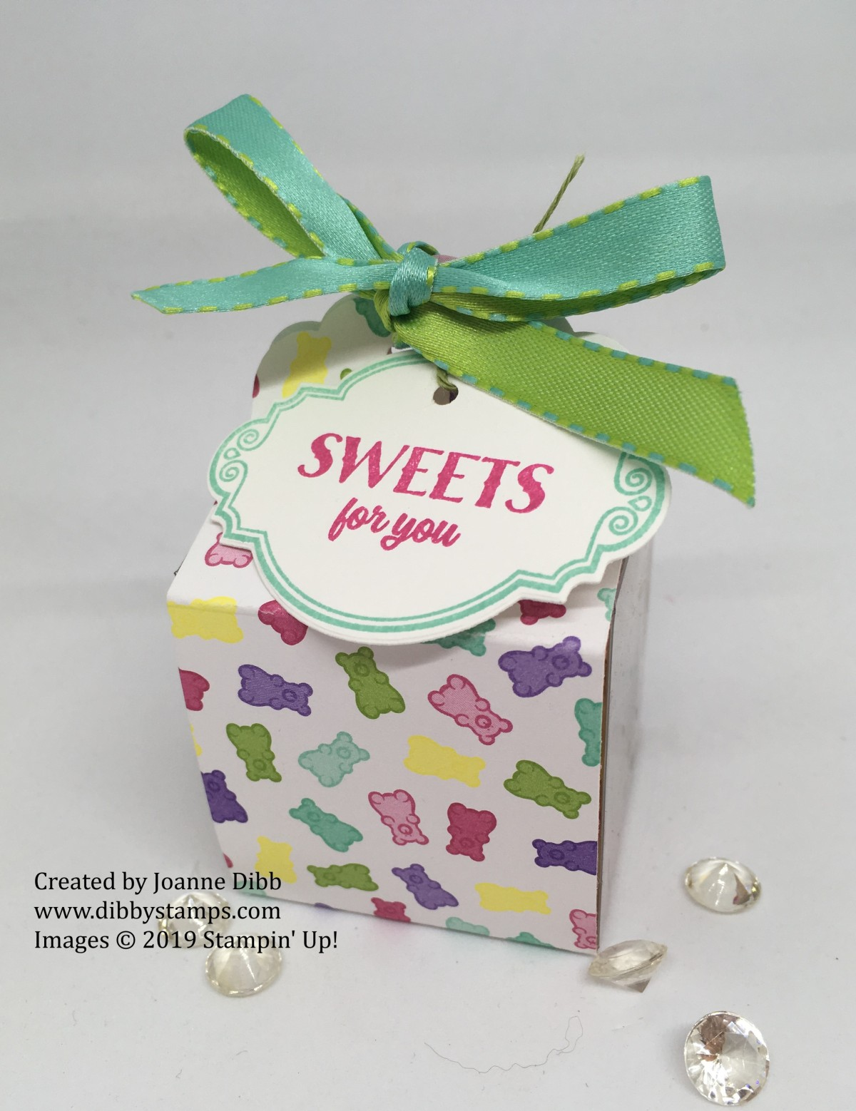 Tiny Treat Box Sweet Wrap