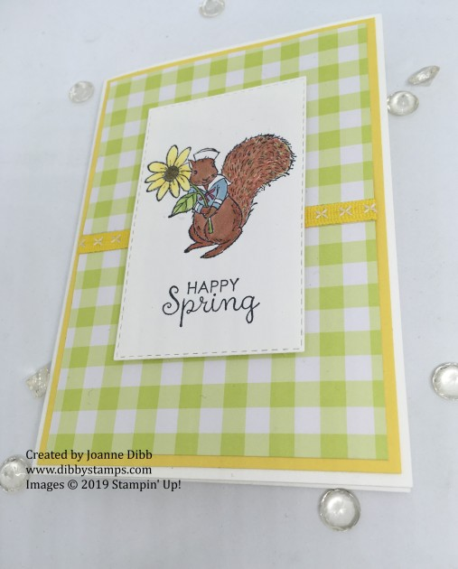 Fable Friends - Happy Spring Squirrel flat