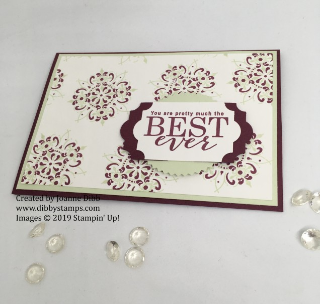 All Adorned Card - Flat