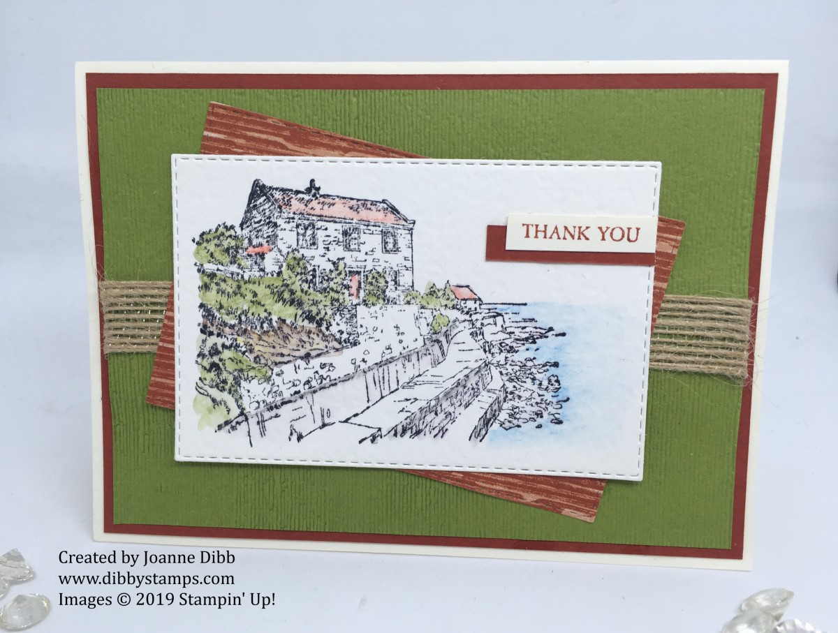 By the Bay Thank You Card