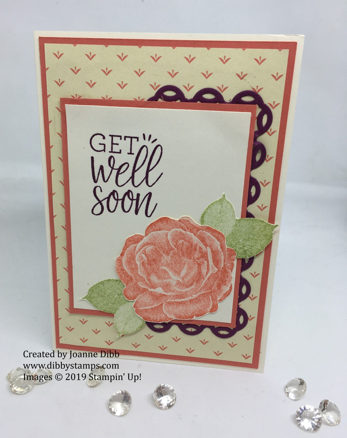 Get Well Soon Card with Healing Hugs