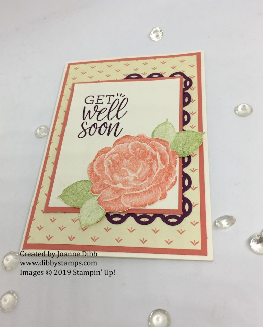 Caypso Coral Get Well Card -flat