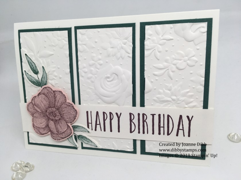Country Floral Birthday Card 1