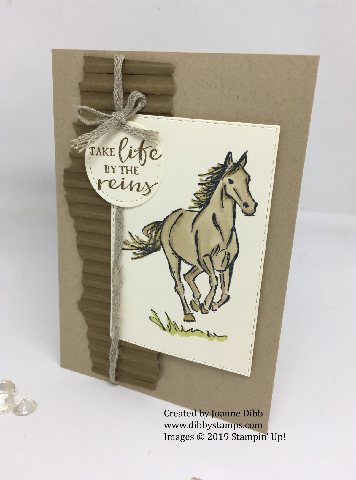 Let It Ride Encouragement Card