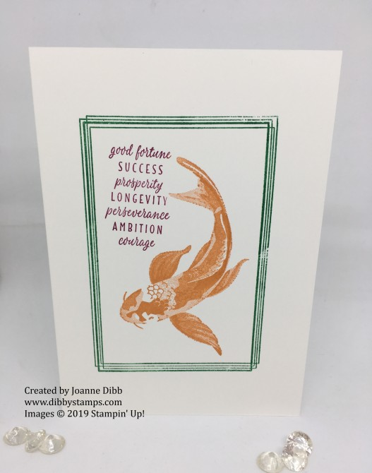 simple stamping - all the good things card 2