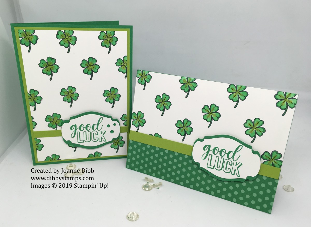 St. Patrick's Day Card Duo
