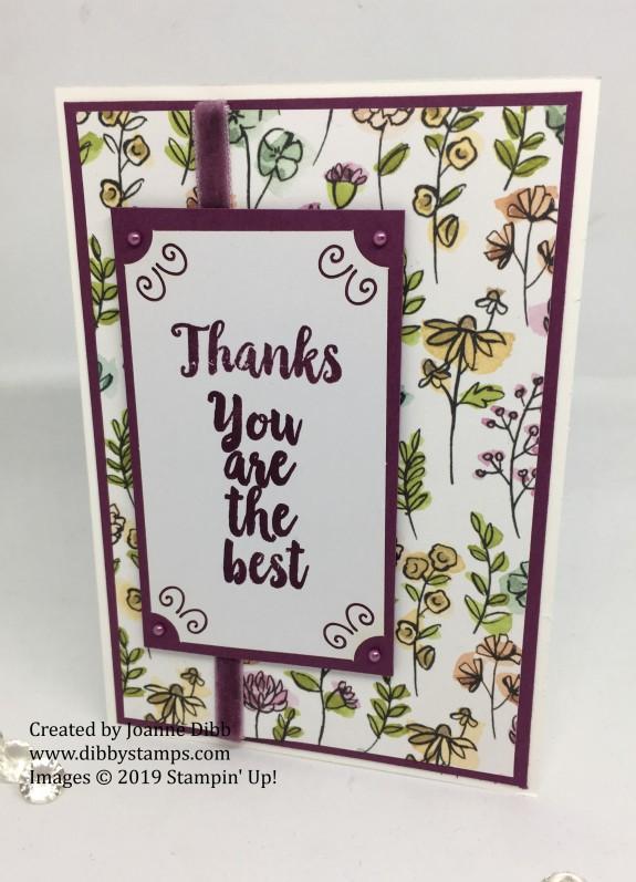 A Big Thank You Trio - card 1