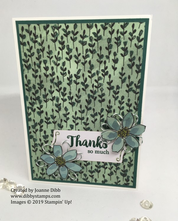A Big Thank You tRio - card 2