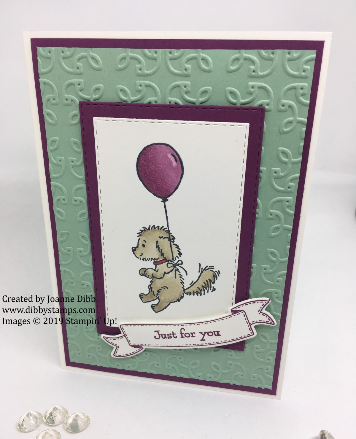 Bella and Balloon Card