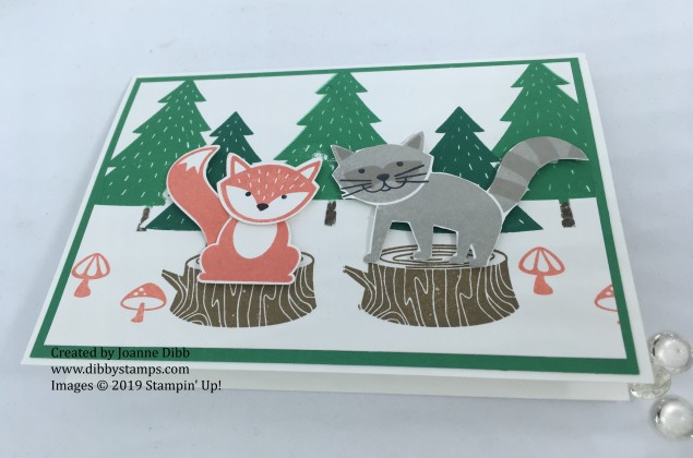 Foxy Friends Forest Card Flat