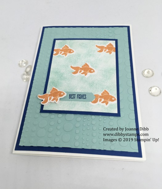 Jar of Love - Best Fishes card flat