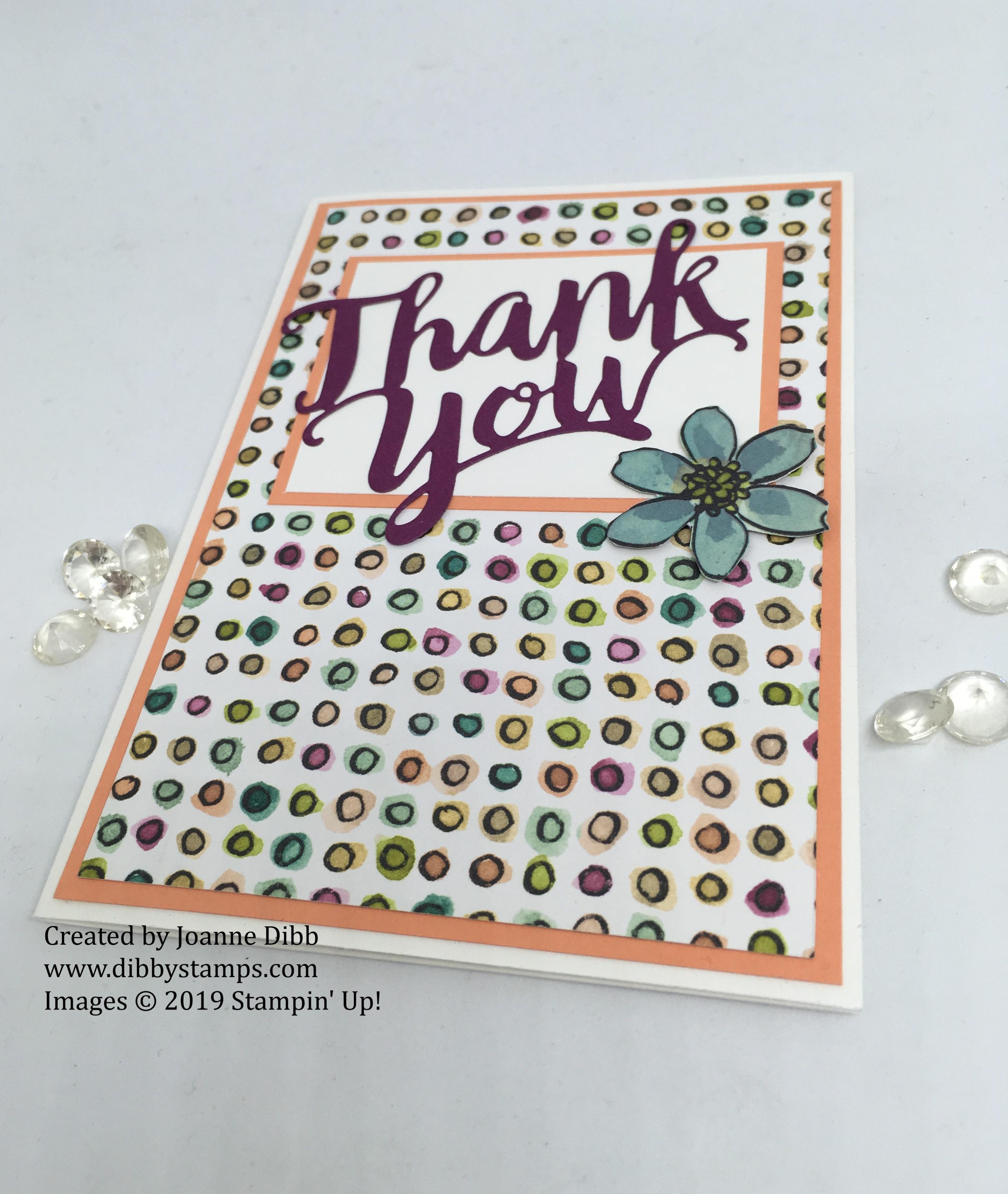 Thank You Thinlit Card lfat