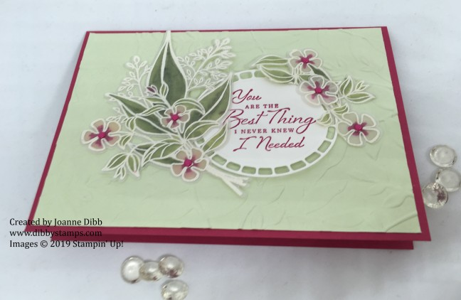 Wonderful Romance Anniversary Card - flat