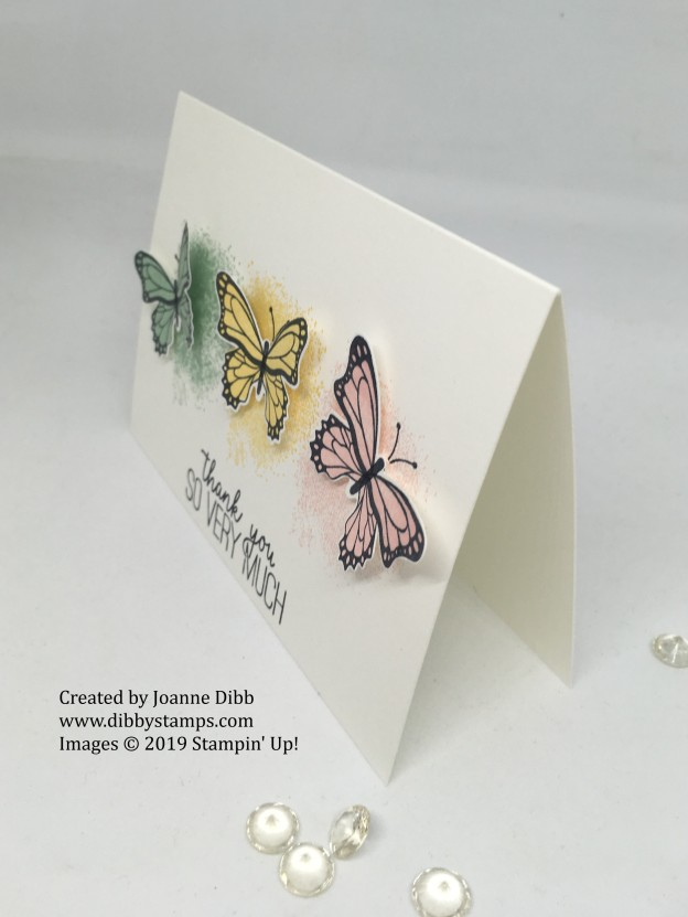 simple stamping - butterfly gala side