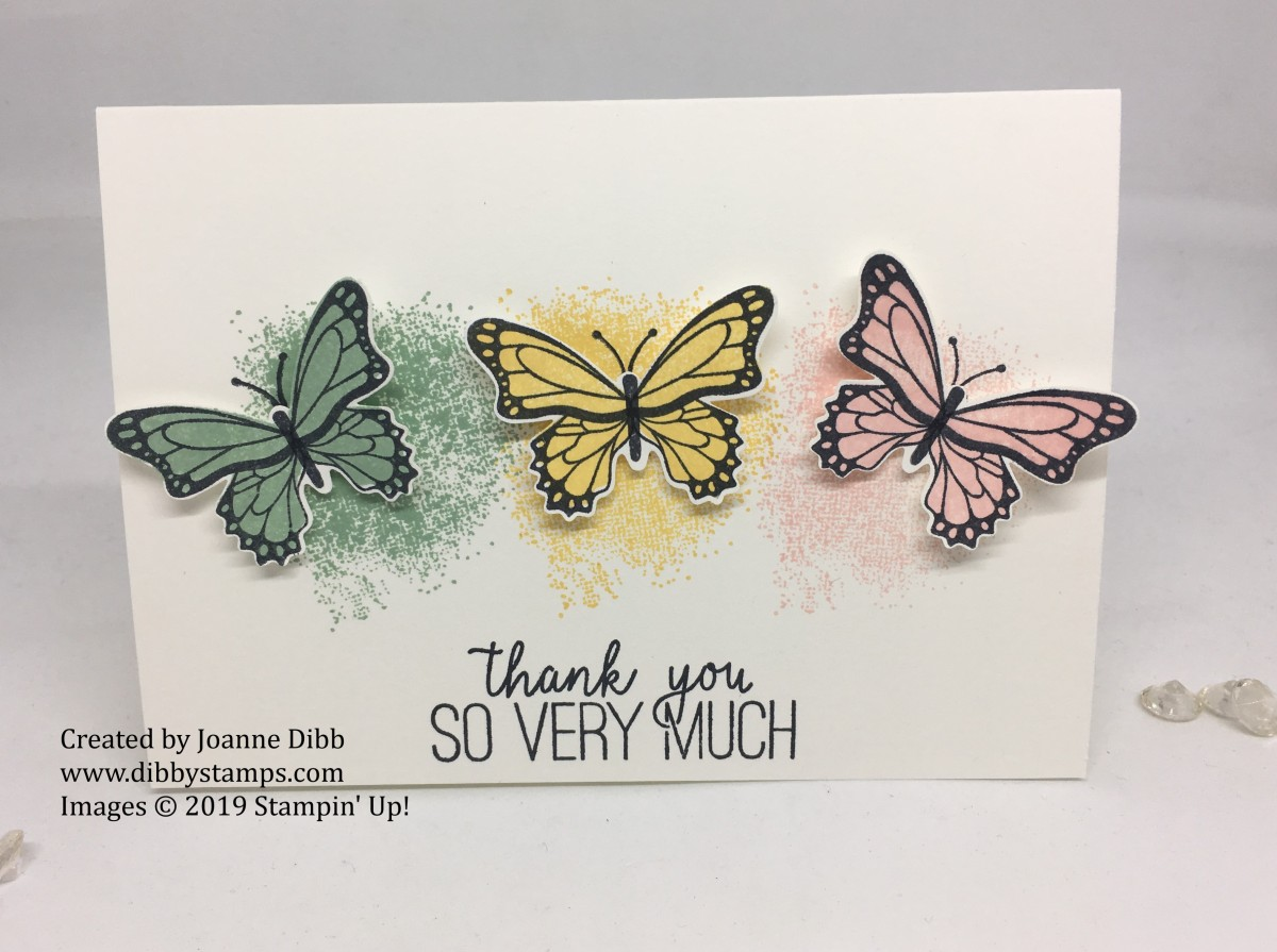 Simple Stamping – Butterfly Gala and Touches of Textures