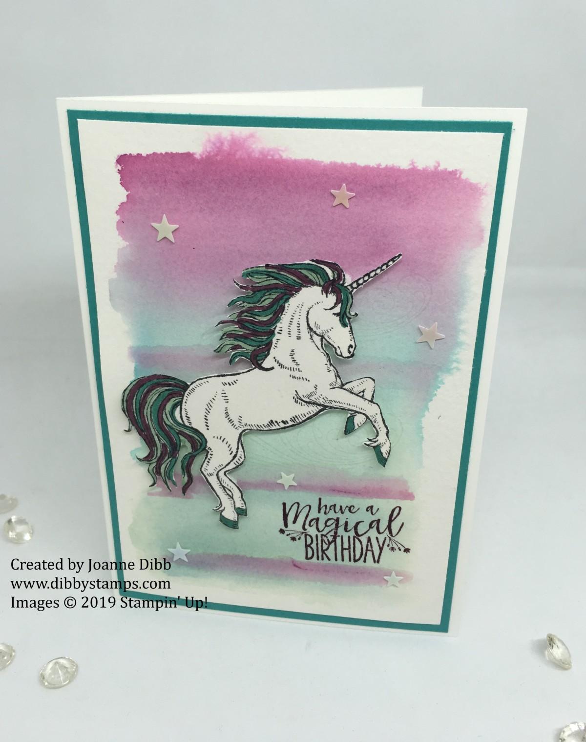 Magical Unicorn BirthdayCard